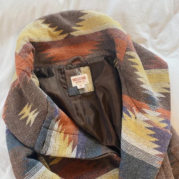 Tribal Print Fall Jacket
